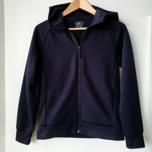 🎀 Uniqlo Kids Black Basic Zipped Up Hoodie Jacket